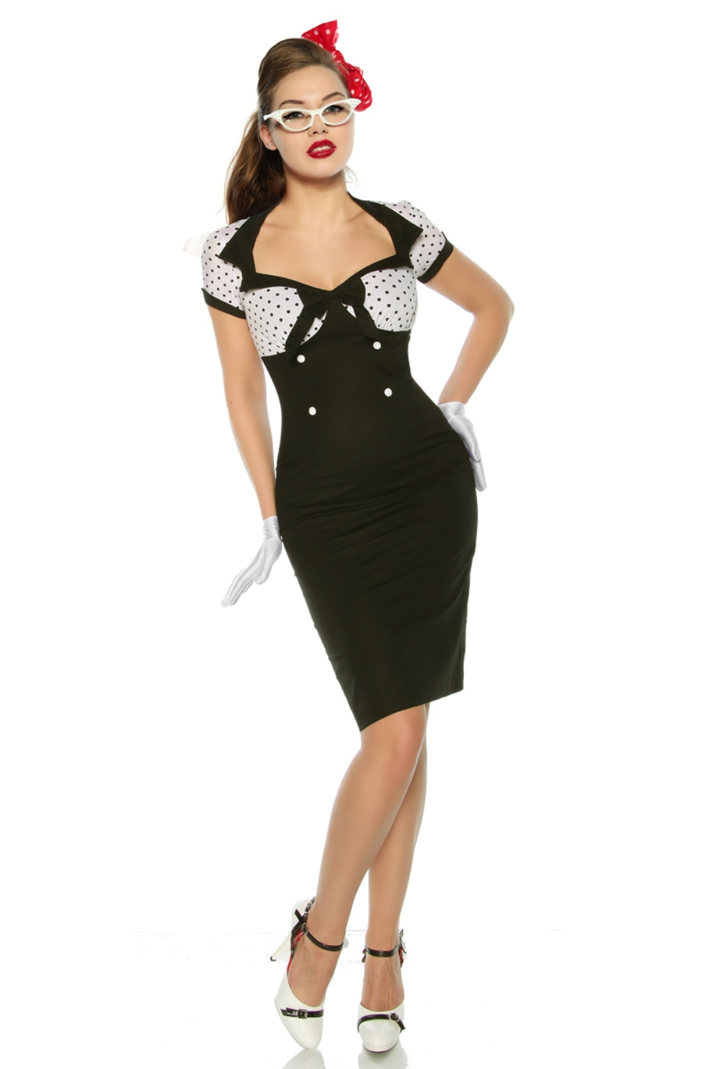 Pin-Up Vintage-Kleid von Chic Chic Chic Star 4f9815