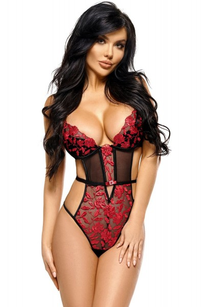 BeautyNightFashion Damen Stringbody M229