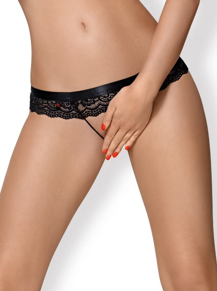 Obsessive Damen Crotchless Panties ouvert