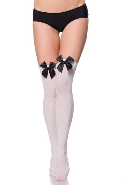 Atixo Damen Stockings mit Schleife