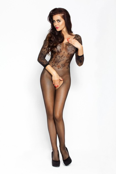Passion Damen Bodystocking ouvert